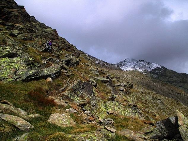 Foto: Andreas Koller / Klettersteigtour / Klettersteig Almagellerhorn (3327m) / 17.11.2015 01:40:50