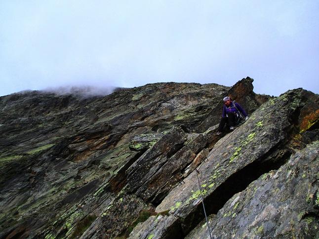 Foto: Andreas Koller / Klettersteigtour / Klettersteig Almagellerhorn (3327m) / 17.11.2015 01:39:49