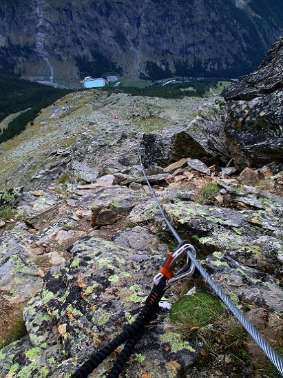 Foto: Andreas Koller / Klettersteigtour / Klettersteig Almagellerhorn (3327m) / 17.11.2015 01:39:37