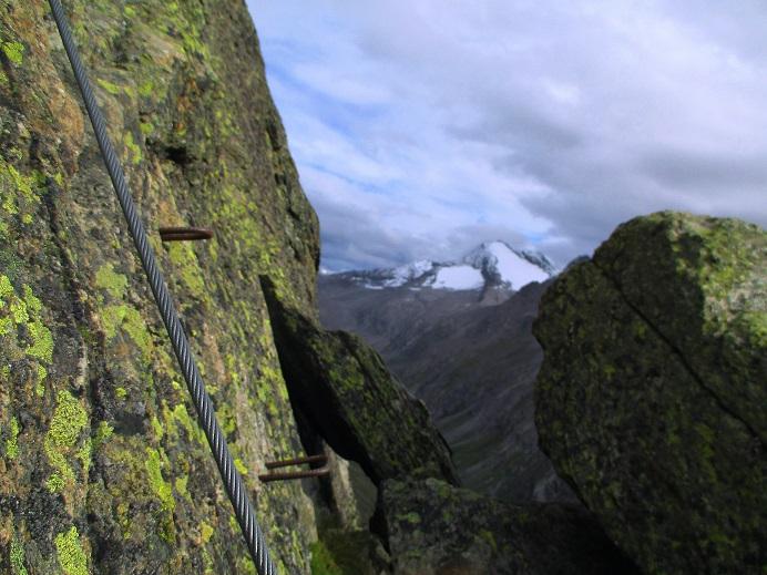 Foto: Andreas Koller / Klettersteigtour / Klettersteig Almagellerhorn (3327m) / 17.11.2015 01:38:59