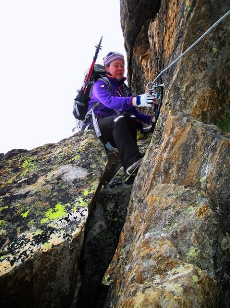 Foto: Andreas Koller / Klettersteigtour / Klettersteig Almagellerhorn (3327m) / 17.11.2015 01:38:19