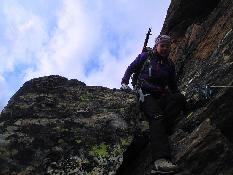 Foto: Andreas Koller / Klettersteigtour / Klettersteig Almagellerhorn (3327m) / 17.11.2015 01:38:08
