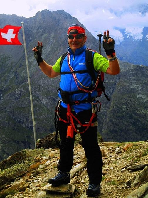 Foto: Andreas Koller / Klettersteigtour / Klettersteig Almagellerhorn (3327m) / 17.11.2015 01:37:38