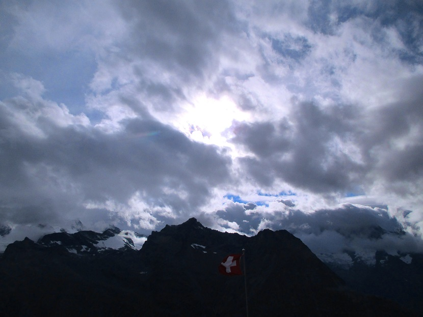 Foto: Andreas Koller / Klettersteigtour / Klettersteig Almagellerhorn (3327m) / 17.11.2015 01:37:27