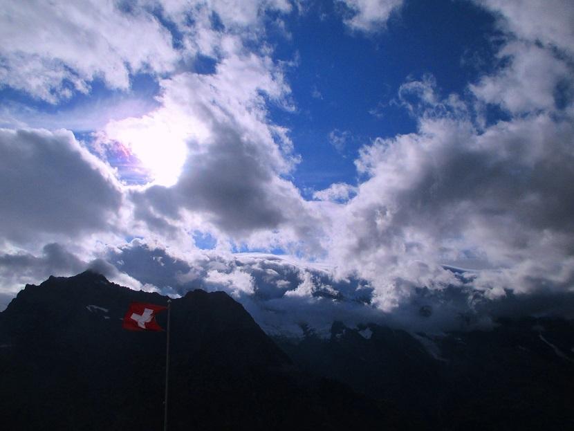 Foto: Andreas Koller / Klettersteigtour / Klettersteig Almagellerhorn (3327m) / 17.11.2015 01:36:49