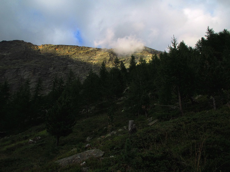 Foto: Andreas Koller / Klettersteigtour / Klettersteig Almagellerhorn (3327m) / 17.11.2015 01:35:22