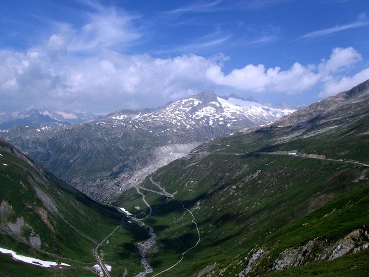 Foto: Andreas Koller / Wandertour / Gross Muttenhorn über Grate und Gletscher (3099m)  / Blick Richtung Rhonegletscher / 11.12.2015 23:52:41