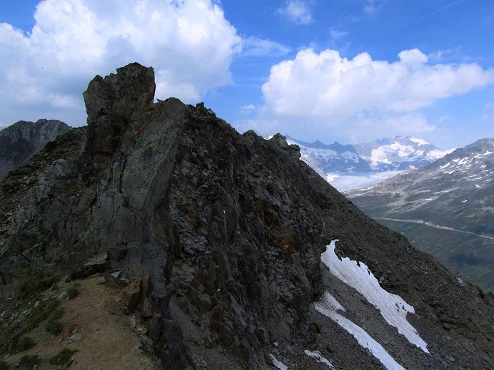 Foto: Andreas Koller / Wandertour / Gross Muttenhorn über Grate und Gletscher (3099m)  / Am Grat / 11.12.2015 23:45:22