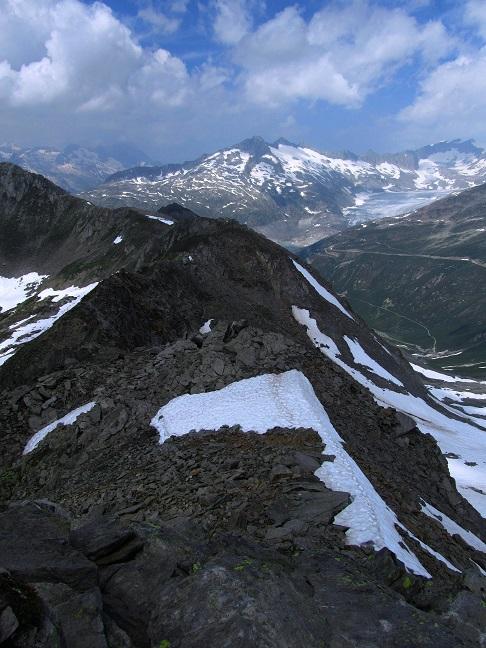 Foto: Andreas Koller / Wandertour / Gross Muttenhorn über Grate und Gletscher (3099m)  / Gratverlauf / 11.12.2015 23:44:58