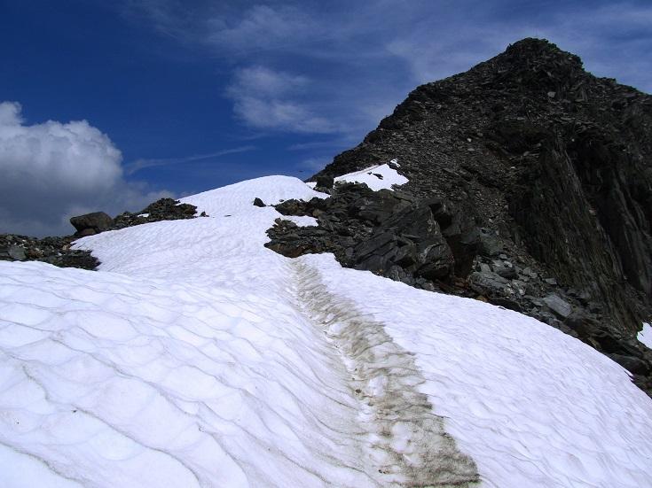Foto: Andreas Koller / Wandertour / Gross Muttenhorn über Grate und Gletscher (3099m)  / Schlussanstieg zum Gross Muttenhorn / 11.12.2015 23:43:10