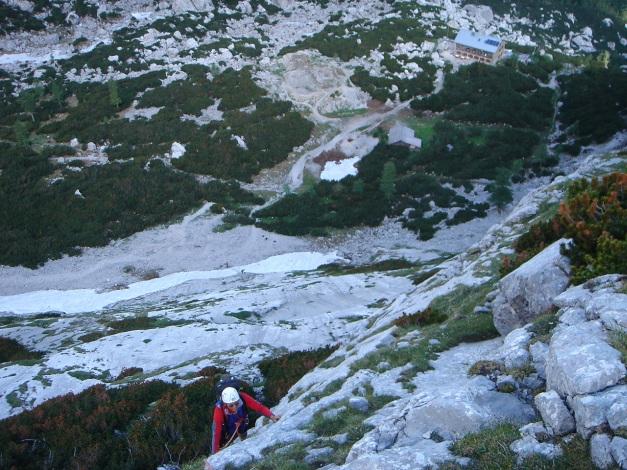 Foto: Manfred Karl / Kletter Tour / Steinberg, Plattenweg links / Ausstiegs-SL / 19.12.2015 23:33:31