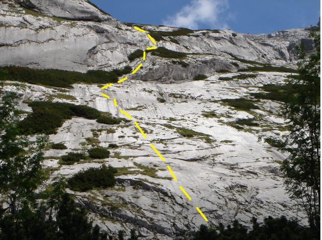 Foto: Manfred Karl / Kletter Tour / Steinberg, Plattenweg links / Plattenweg links / 19.12.2015 23:32:06