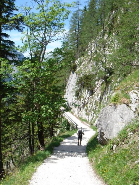 Foto: Manfred Karl / Kletter Tour / Steinberg, Plattenweg links / 19.12.2015 23:31:44