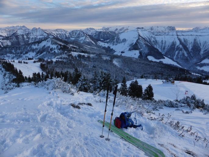 Foto: Manfred Karl / Skitour / Wieserhörndl – Ohne Piste? / 25.01.2016 21:18:30
