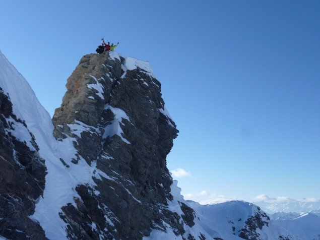 Foto: Manfred Karl / Ski Tour / Pointe des Marcelettes, 2909 m / 16.02.2016 20:35:07