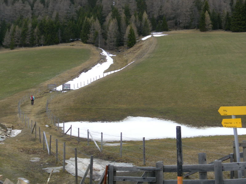 Foto: Wolfgang Lauschensky / Schneeschuhtour / Padauner Kogel 2066m / Graben beim Larcherhof / 07.04.2016 00:27:44
