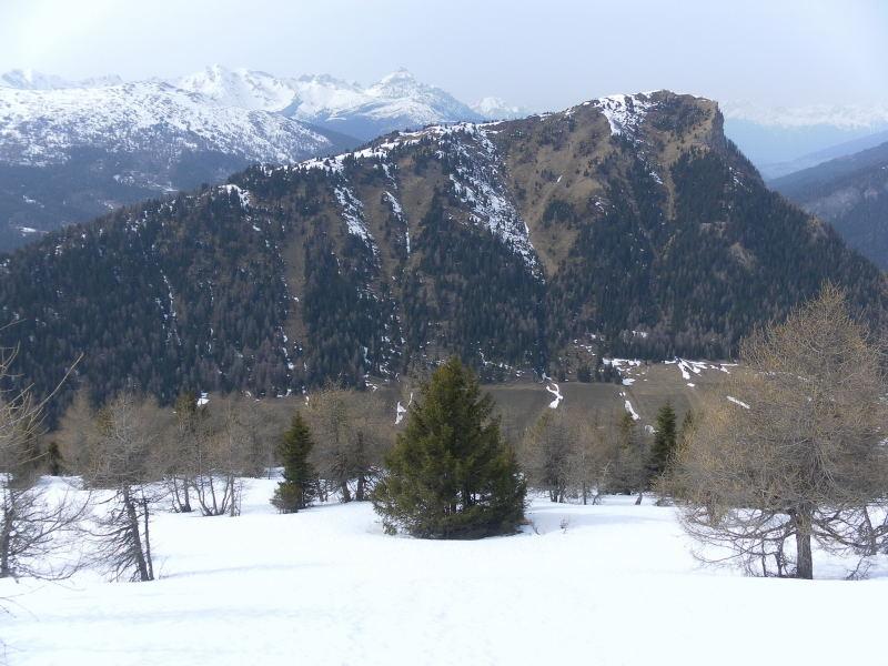 Foto: Wolfgang Lauschensky / Schneeschuhtour / Vennspitze und Padauner Berg / Padauner Kogel aus dem Nordwestrücken des Padauner Berges / 07.04.2016 14:44:27