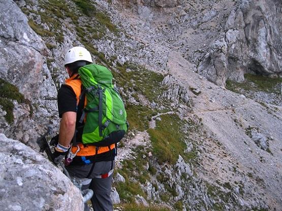 Foto: Andreas Koller / Klettersteig Tour / Bismarcksteig und Predigtstuhl (1902m) / 29.04.2016 19:17:27
