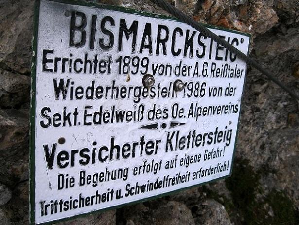 Foto: Andreas Koller / Klettersteig Tour / Bismarcksteig und Predigtstuhl (1902m) / 29.04.2016 19:17:35
