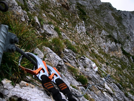 Foto: Andreas Koller / Klettersteig Tour / Bismarcksteig und Predigtstuhl (1902m) / 29.04.2016 19:15:51