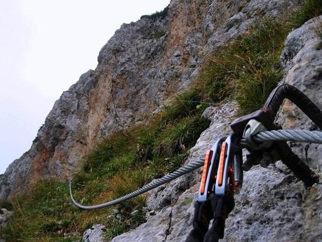 Foto: Andreas Koller / Klettersteig Tour / Bismarcksteig und Predigtstuhl (1902m) / 29.04.2016 19:15:28