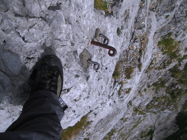 Foto: Andreas Koller / Klettersteig Tour / Bismarcksteig und Predigtstuhl (1902m) / 29.04.2016 19:14:47