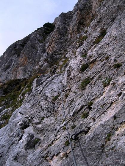 Foto: Andreas Koller / Klettersteig Tour / Bismarcksteig und Predigtstuhl (1902m) / 29.04.2016 19:14:30