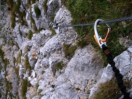 Foto: Andreas Koller / Klettersteig Tour / Bismarcksteig und Predigtstuhl (1902m) / 29.04.2016 19:14:03
