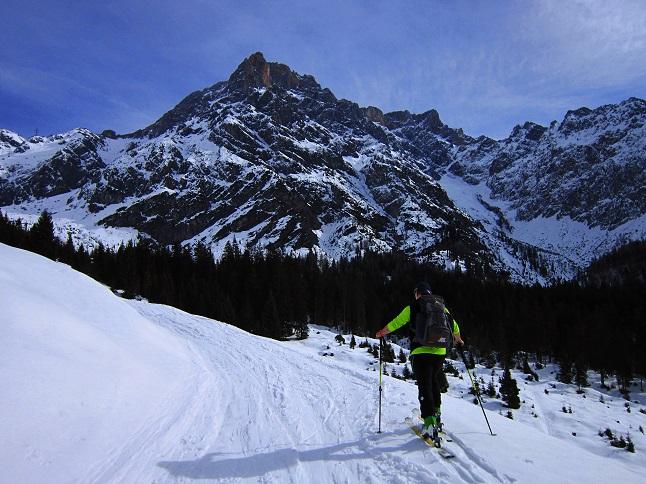 Foto: Andreas Koller / Skitour / Steile Hänge am Marterlkopf (2445m) / 13.05.2016 01:09:40