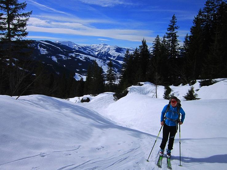 Foto: Andreas Koller / Skitour / Steile Hänge am Marterlkopf (2445m) / 13.05.2016 01:09:31