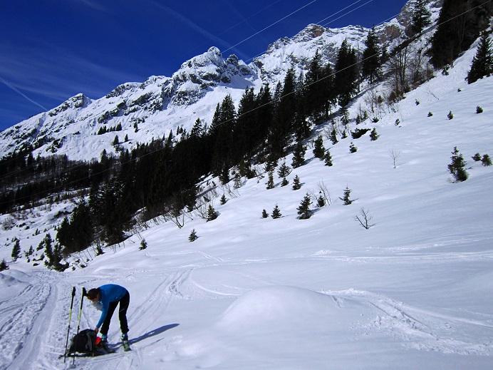 Foto: Andreas Koller / Skitour / Steile Hänge am Marterlkopf (2445m) / 13.05.2016 01:08:45