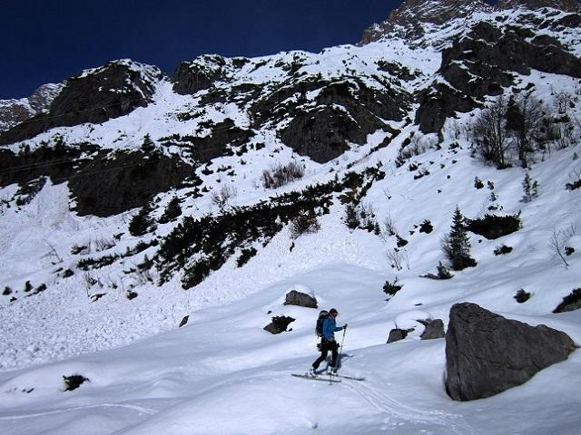Foto: Andreas Koller / Skitour / Steile Hänge am Marterlkopf (2445m) / 13.05.2016 01:08:14