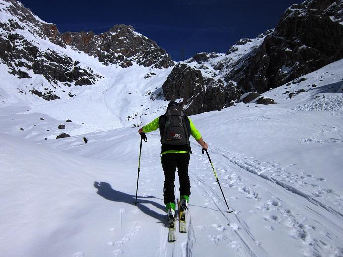Foto: Andreas Koller / Skitour / Steile Hänge am Marterlkopf (2445m) / 13.05.2016 01:07:43
