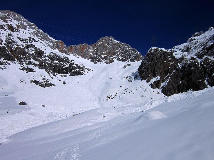Foto: Andreas Koller / Skitour / Steile Hänge am Marterlkopf (2445m) / 13.05.2016 01:07:05