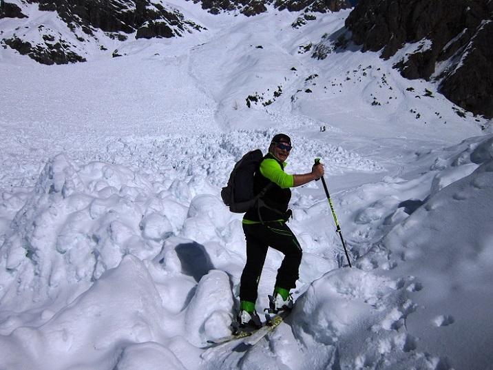 Foto: Andreas Koller / Skitour / Steile Hänge am Marterlkopf (2445m) / 13.05.2016 01:06:46