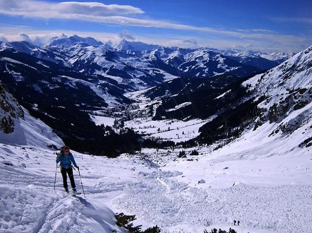 Foto: Andreas Koller / Skitour / Steile Hänge am Marterlkopf (2445m) / 13.05.2016 01:06:23