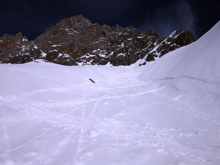 Foto: Andreas Koller / Skitour / Steile Hänge am Marterlkopf (2445m) / 13.05.2016 01:05:49