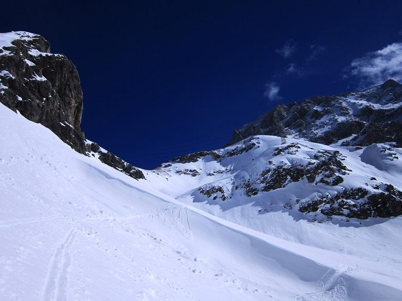 Foto: Andreas Koller / Skitour / Steile Hänge am Marterlkopf (2445m) / 13.05.2016 01:05:23