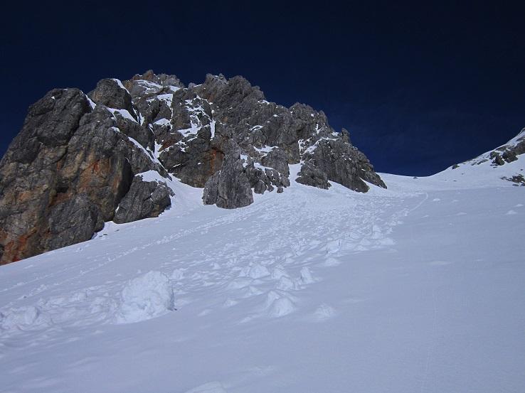 Foto: Andreas Koller / Skitour / Steile Hänge am Marterlkopf (2445m) / 13.05.2016 01:04:50