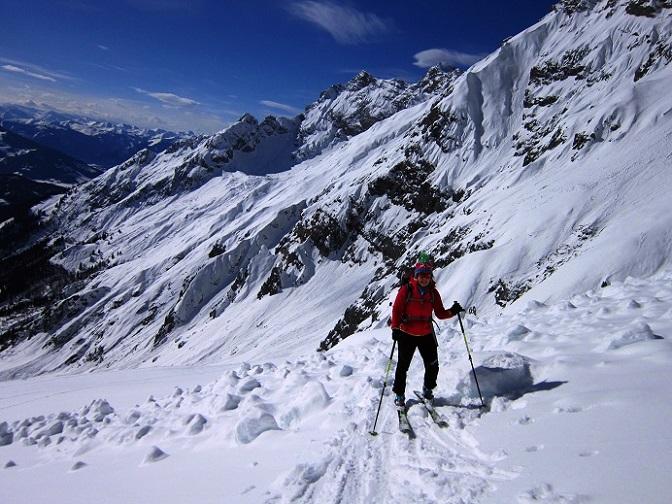 Foto: Andreas Koller / Skitour / Steile Hänge am Marterlkopf (2445m) / 13.05.2016 01:04:41