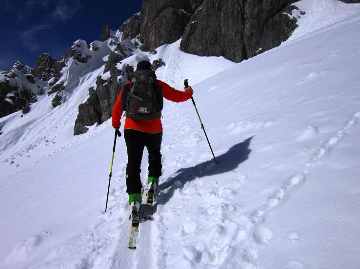 Foto: Andreas Koller / Skitour / Steile Hänge am Marterlkopf (2445m) / 13.05.2016 01:04:21