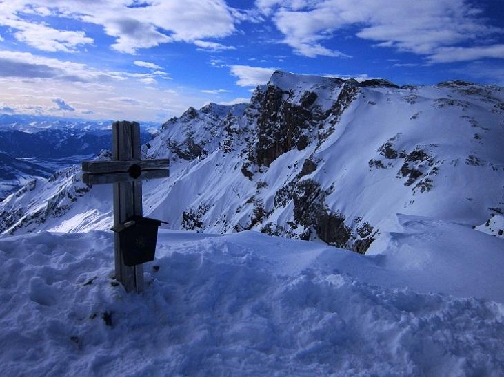 Foto: Andreas Koller / Skitour / Steile Hänge am Marterlkopf (2445m) / 13.05.2016 01:02:20