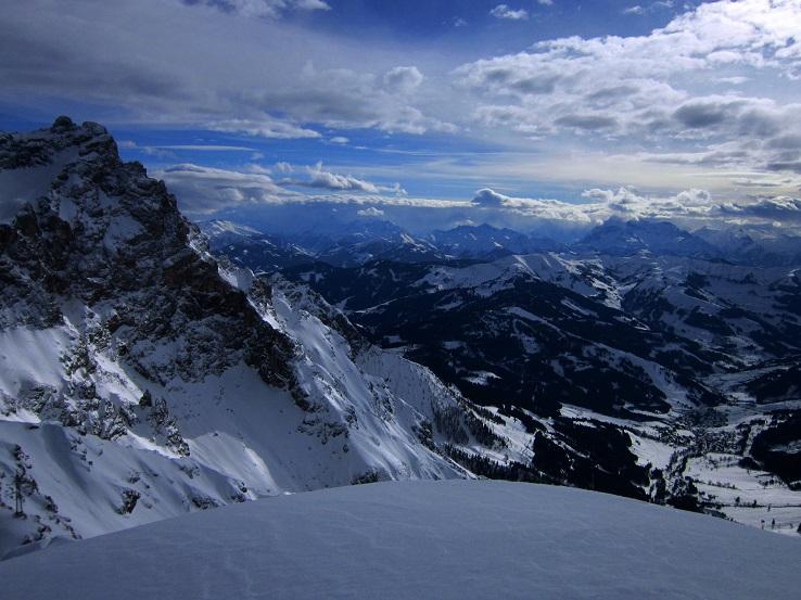 Foto: Andreas Koller / Skitour / Steile Hänge am Marterlkopf (2445m) / 13.05.2016 01:01:53