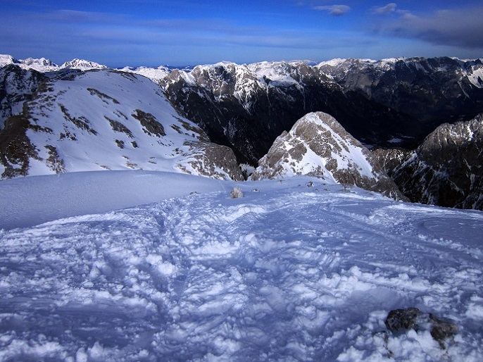 Foto: Andreas Koller / Skitour / Steile Hänge am Marterlkopf (2445m) / Abstieg vom Marterlkopf / 13.05.2016 01:01:04