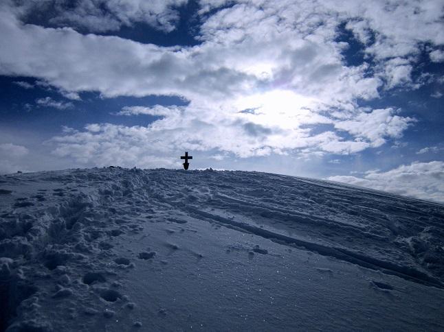 Foto: Andreas Koller / Skitour / Steile Hänge am Marterlkopf (2445m) / 13.05.2016 01:00:41