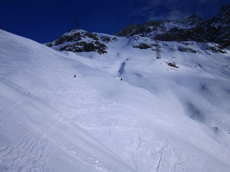 Foto: Andreas Koller / Skitour / Steile Hänge am Marterlkopf (2445m) / 13.05.2016 00:59:53
