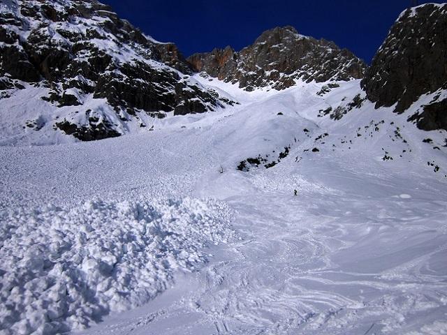 Foto: Andreas Koller / Skitour / Steile Hänge am Marterlkopf (2445m) / 13.05.2016 00:59:30