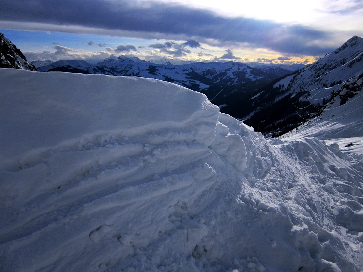 Foto: Andreas Koller / Skitour / Steile Hänge am Marterlkopf (2445m) / 13.05.2016 00:58:26