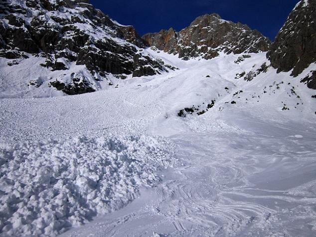 Foto: Andreas Koller / Skitour / Steile Hänge am Marterlkopf (2445m) / Rückblick zum Marterlkopf / 13.05.2016 00:58:14