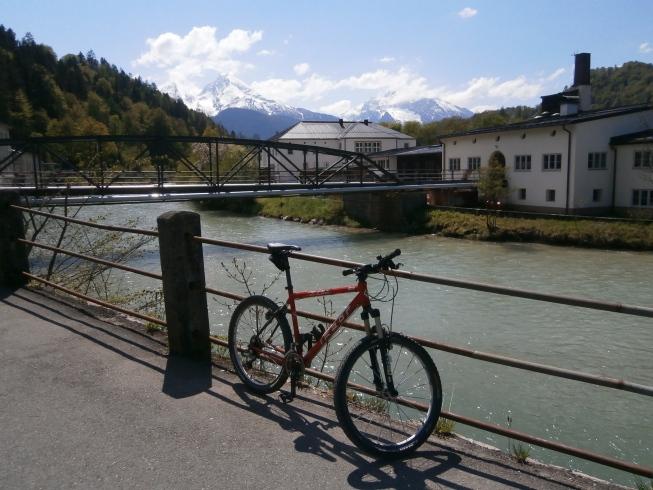 Foto: Manfred Karl / Rad Tour / Am Achenweg zum Königssee / Bei der Saline / 23.05.2016 21:05:09